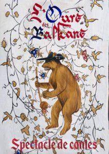 L'ours des balkans conte création 2017